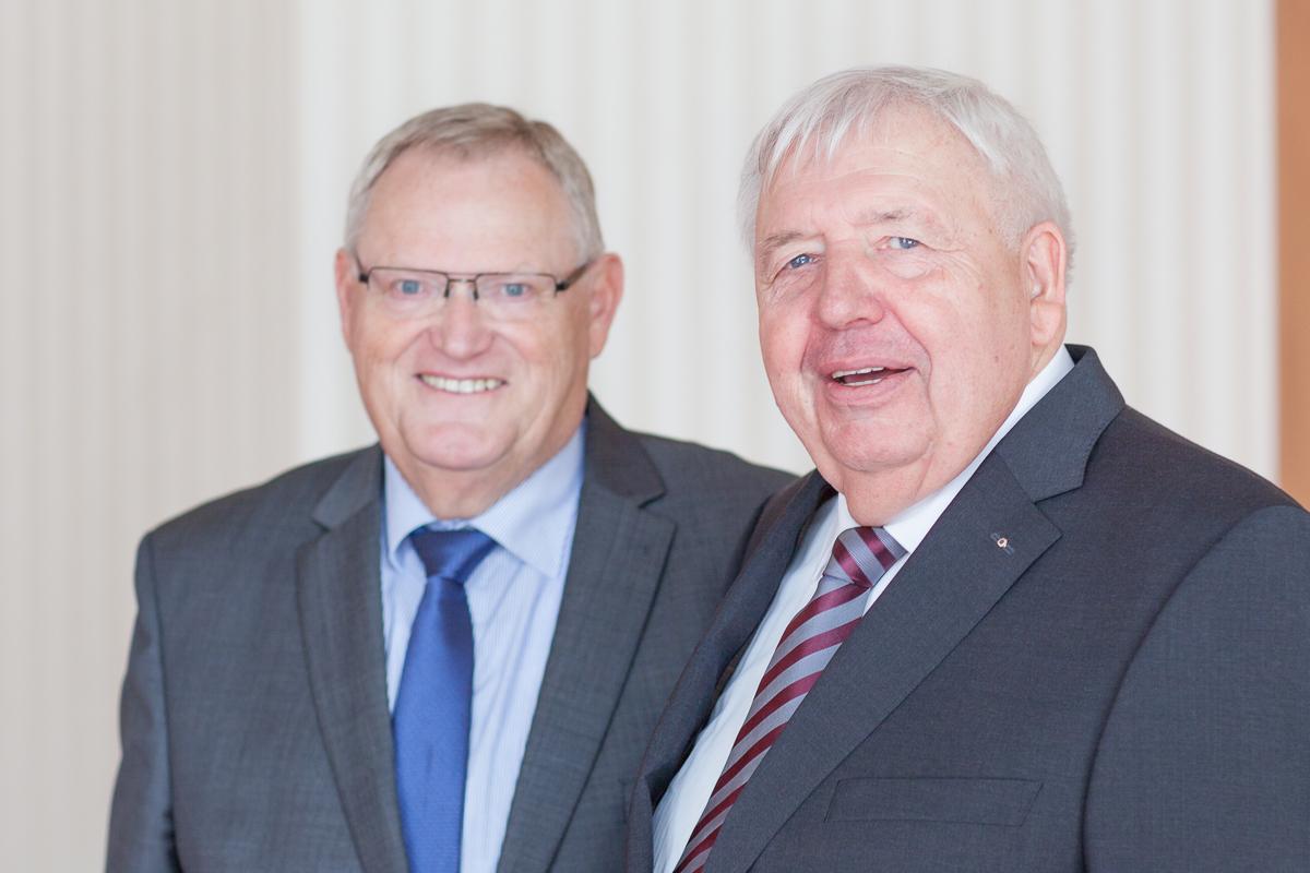 Walter Hoof und Dieter Schröder