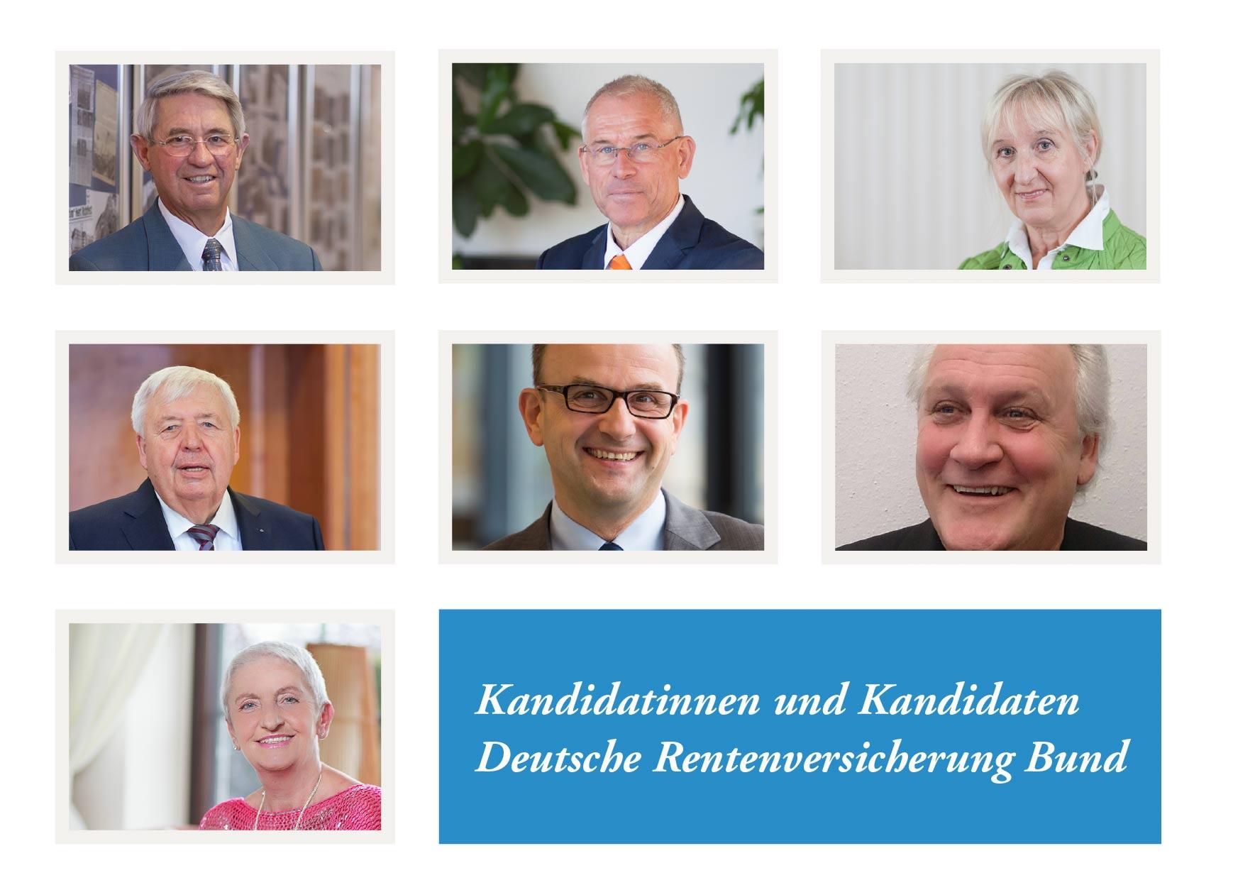 Übersicht Kandidaten DRV
