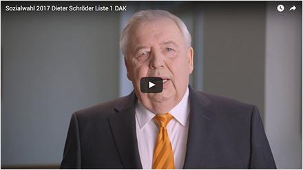 Videostatement Dieter Schröder