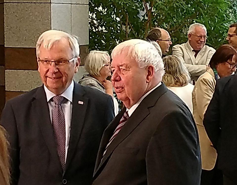 Horst Zöller und Dieter Schröder