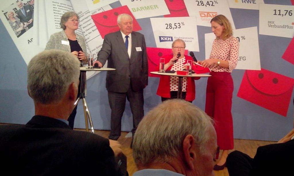 Dieter Schröder - Podiumsdiskussion Sozialwahl 2017